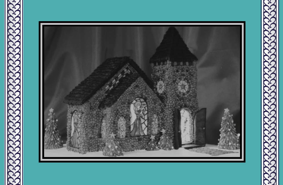 - Published: Good Housekeeping Magazine• Gingerbread Church with