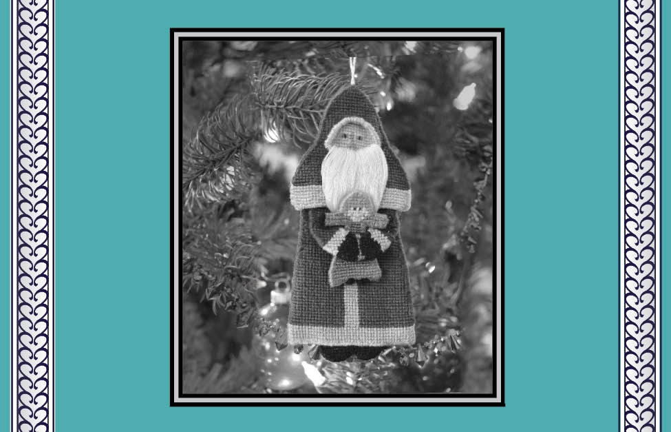 - Grand Prize Winner: Crafts Magazine's DMC Embroidery Floss Christmas Ornament Contest• Father Christmas, shown on cover.
