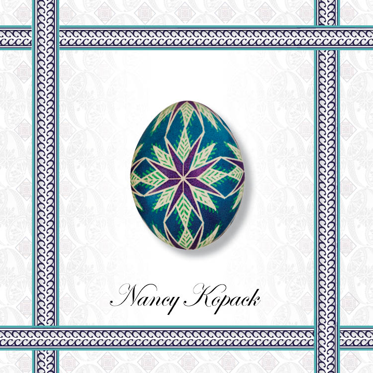 Easy Ukrainian Easter Egg