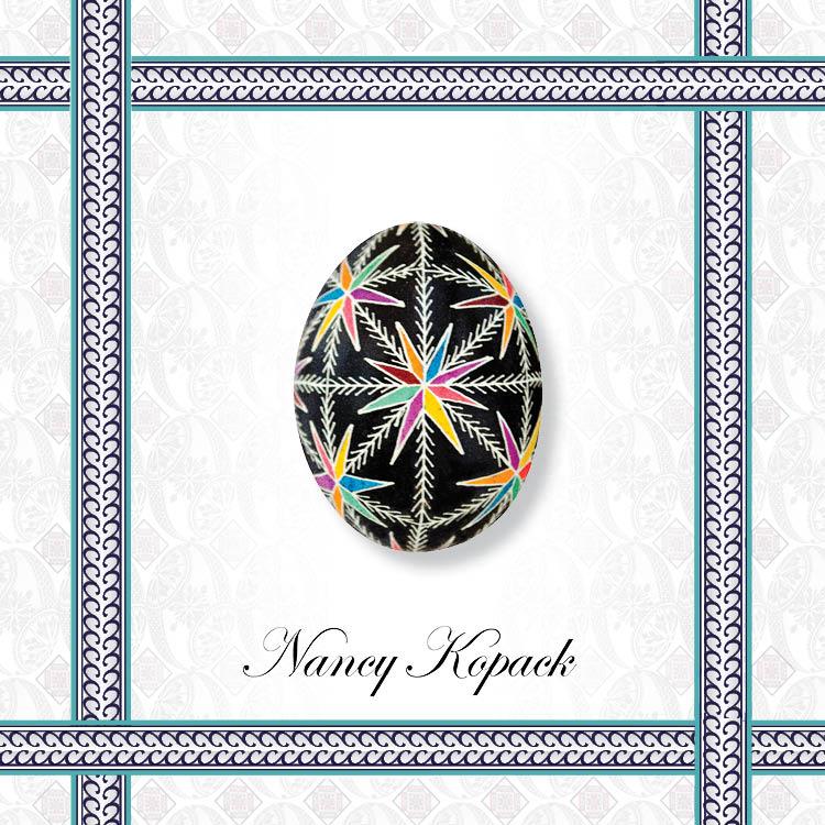 Easy Ukrainian Easter Egg Design