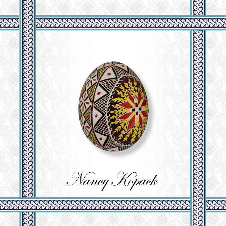 Affirmation - Ukrainian Easter Egg