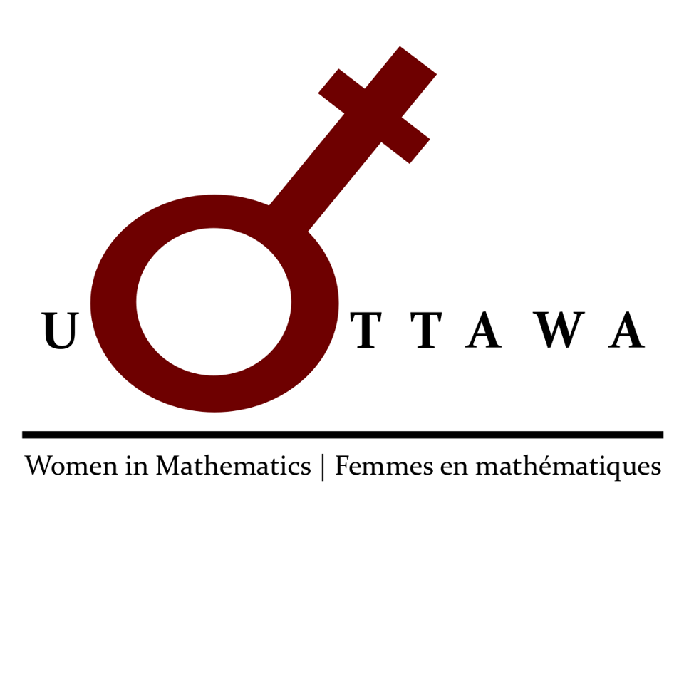 The Women in Math club seeks to connect and support women in math in all stages of their educations and promote equal opportunity and equal treatment of women in math. We encourage interest in mathematics among all students with fun mathematical lectures and activities centered on women's impact in math!  Email:  womeninmathuottawa@gmail.com