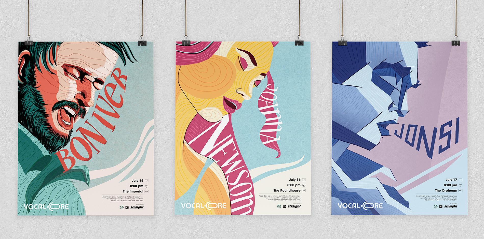 Vocal-Core-music-festival-poster-design-and-illustration.jpg