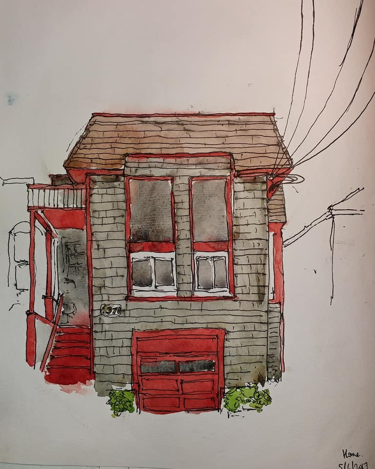 Red Trim (Home)