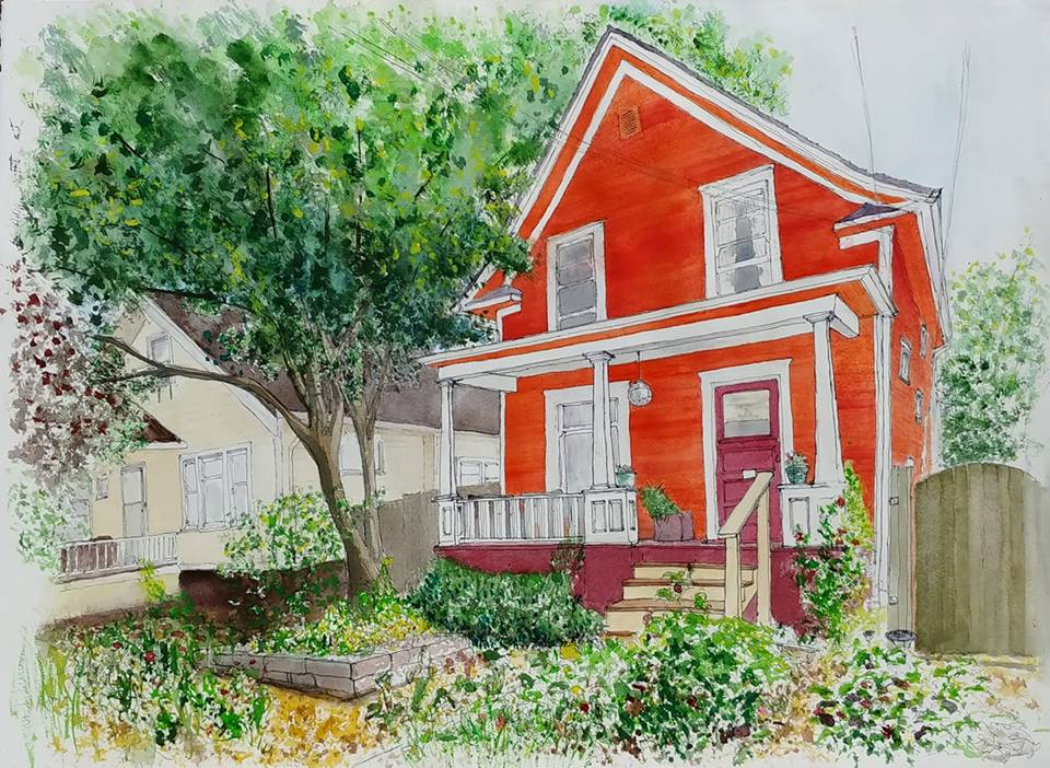 Orange House, Portland, OR