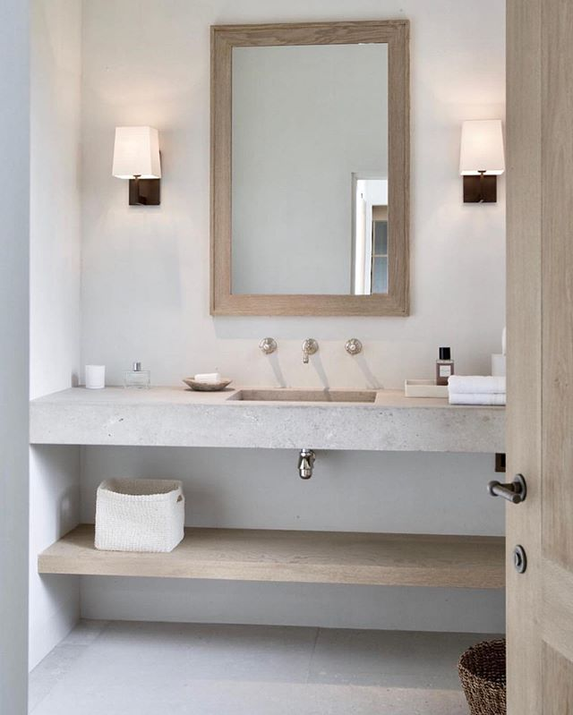 this pic right here served as major inspiration for an upcoming master bathroom re-model. count down to demo is officially on 🗓 inspo via @betapluspublishing