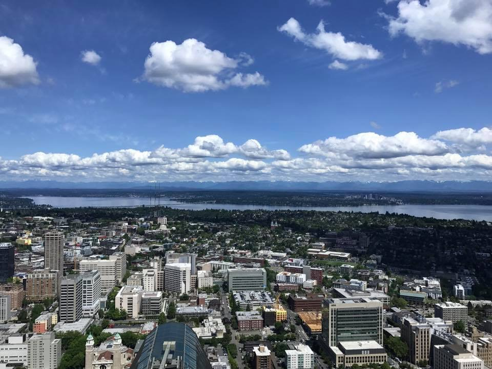 View from the 73rd floor of the Columbia Center