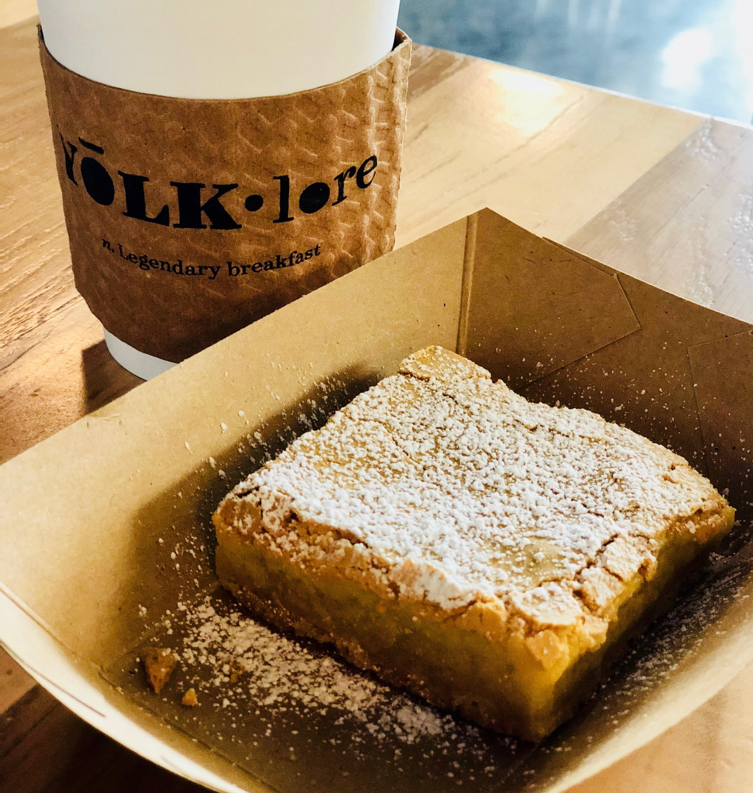 Gooey Butter Cake is a classic St. Louis find and quite possibly the best version I've ever had - it has the perfect crust on top.