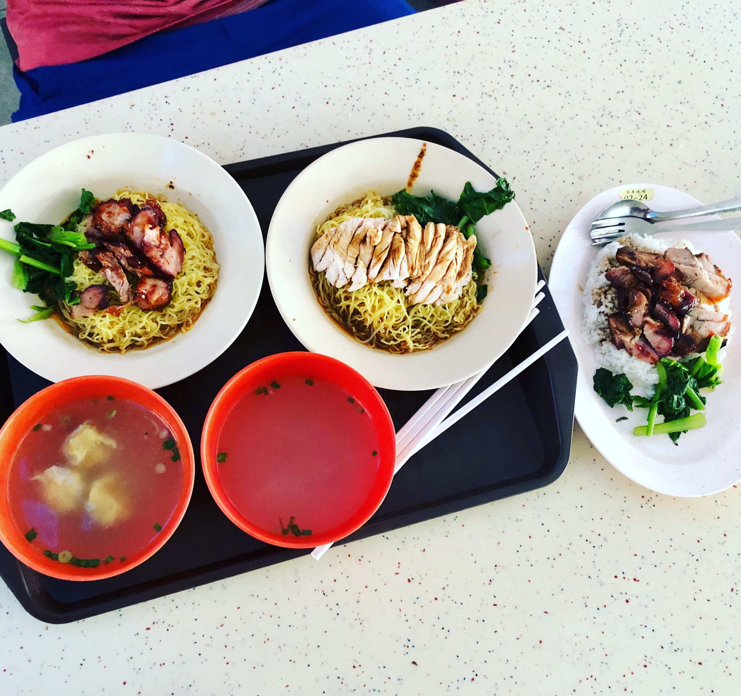 {Tiong Bahru Market} - hawker center, quintessential Singapore food experience and one of my favorites.