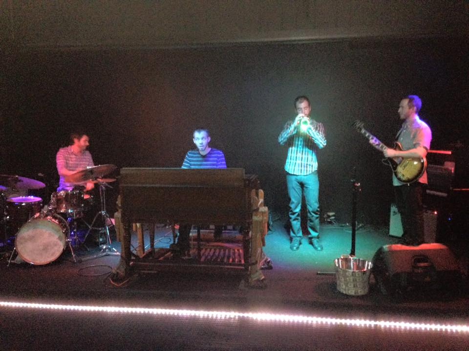 The B3 Jazz Project feat Mark Emmons and Gabe Mervine. Herbs Bar Denver, CO
