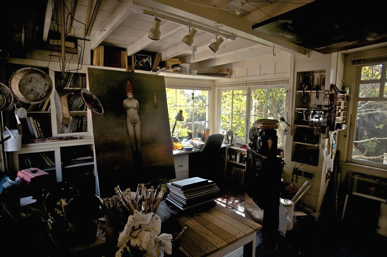 Studio in Berkeley CA. 2016
