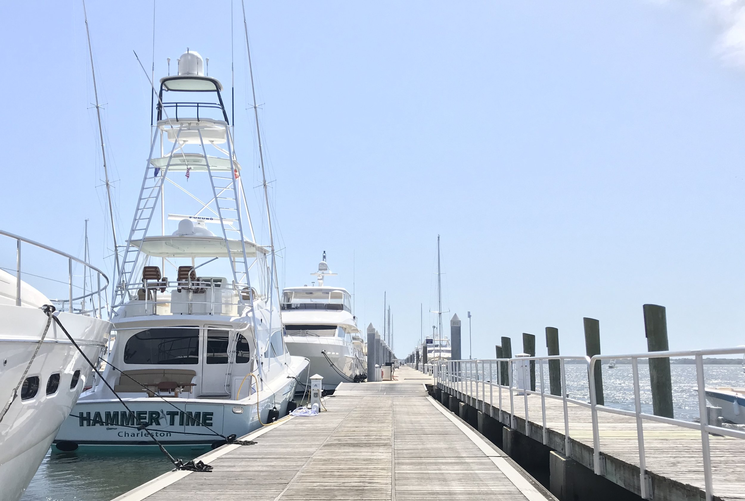 DOCKWALK: CHARLESTON CITY MARINA
