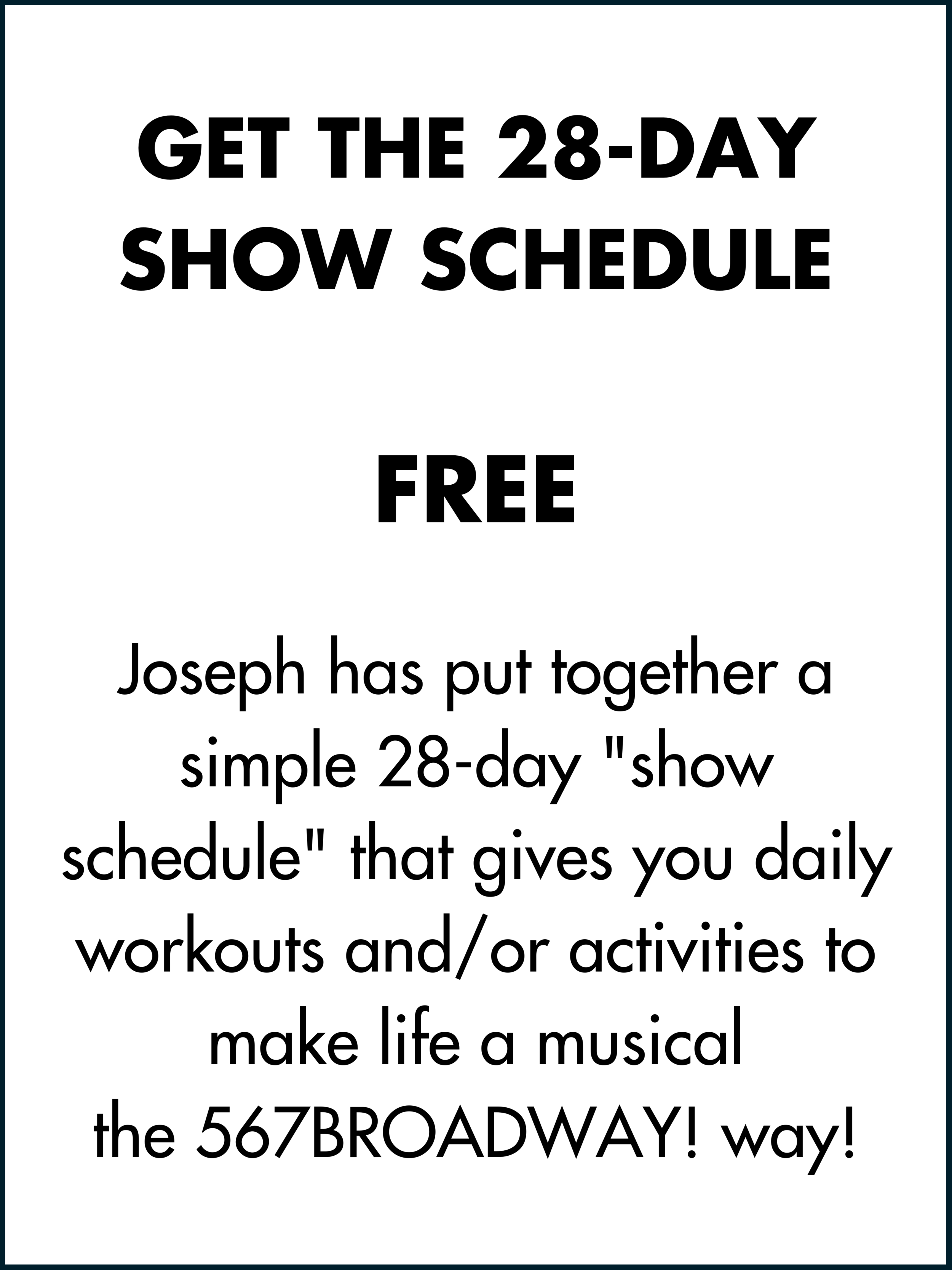 GET 567BROADWAY! $19.99 ONE TIME FEE You Get_ 567BROADWAY! 30-minute workout PLUS 7 easy-to-follow bonus video tutorials where Joseph breaks down the dance combinations step by step (3).png