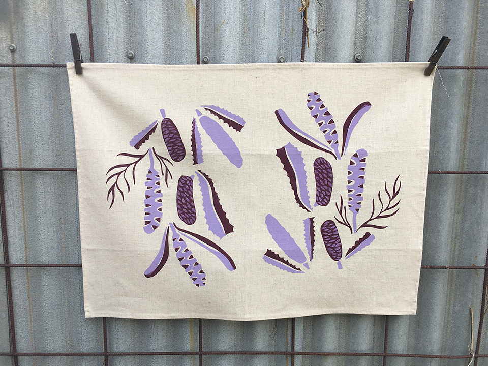 Learn the Art of Silk Screen Printing with Surface Designer Isabel Nina Young