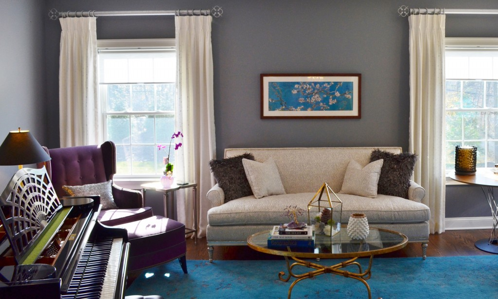 Normandy Parkway - Integration of traditional and mid-century décor for busy executive in Morristown, NJ