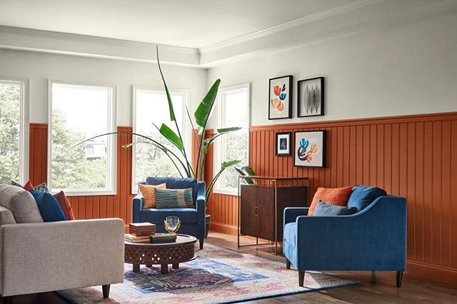 For 2019, Sherwin Williams is predicting a 70s revival with their color of the year choice, Cavern Clay. I think this color compliments white wonderfully, so if you have more of a whitewashed space, adding this color can really add some warmth and depth. What do you think of this throwback color?  #sherwinwilliams #colorinspo #color #colorsoftheyear #coloroftheyear2018 #coloroftheyear #painting #paint #interiorforinspo #interiorinspo #interiorstyle #interiordesignideas #interiordesign #interiordesigner #creatingcozyhomesforbusyfamilies