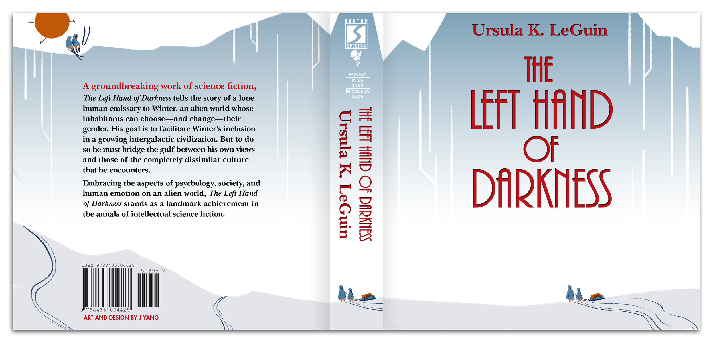 the left hand of darkness - A set of illustrations celebrating the 1969 novel by Ursula K. LeGuin
