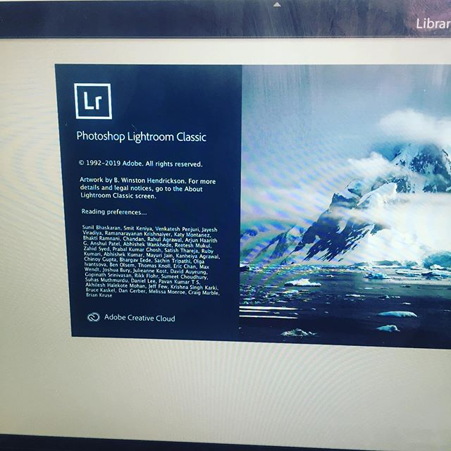 It's like rolling a die.... will it work today? Or will it rage quit and waste my whole afternoon? #adobe #lightroom #photediting