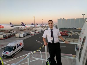 July Camp Assistant Director  FedEx Airlines 777 First Officer