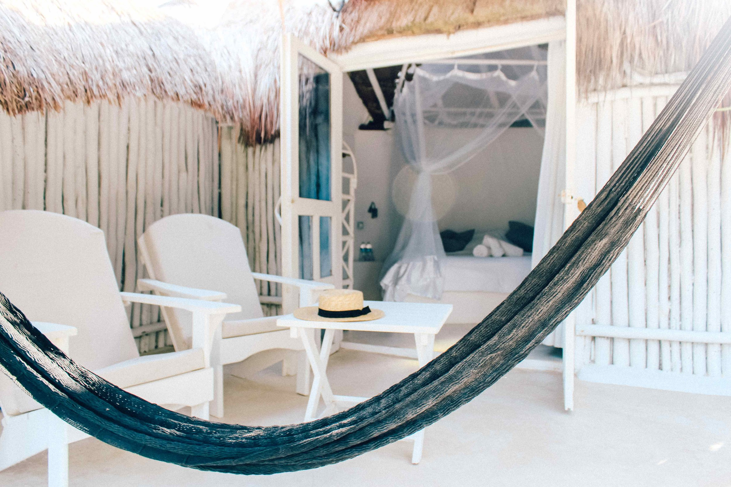 Coco Tulum - our sweet beach shack accomodation