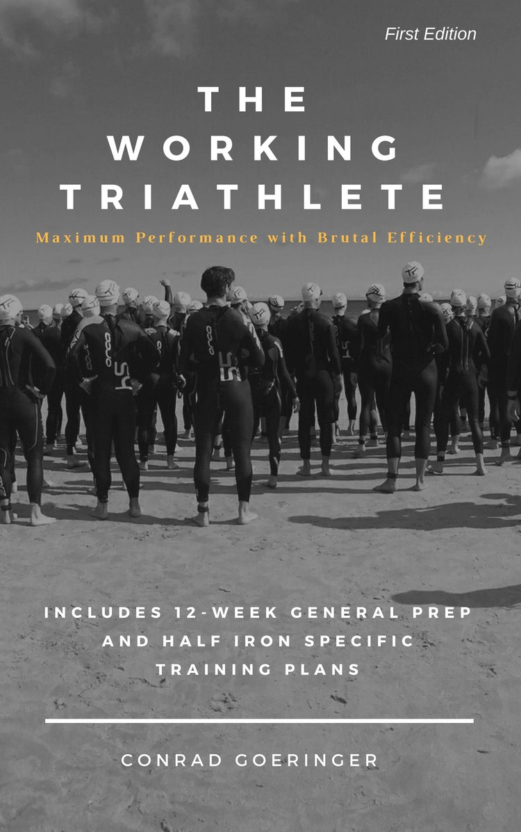 Conrad Goeringer is the founder of Working Triathlete, triathlon coach, author, and all around best of an athlete.