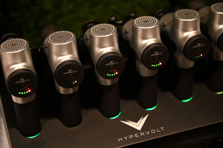 Hypervolt is a popular brand of massage guns used in the fitness and physical therapy space