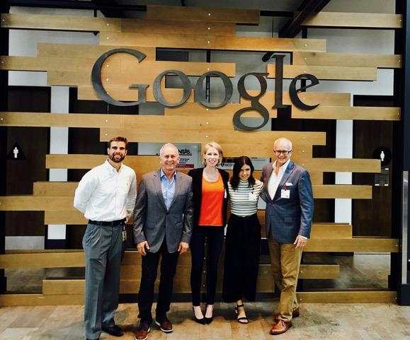 Pictured left to right: - Nick Shelton (Google)Ron Hicks (HerdX)Sarah Harkleroad (HerdX)Katie Kanelopoulos (HerdX)Mark Bode (HerdX)