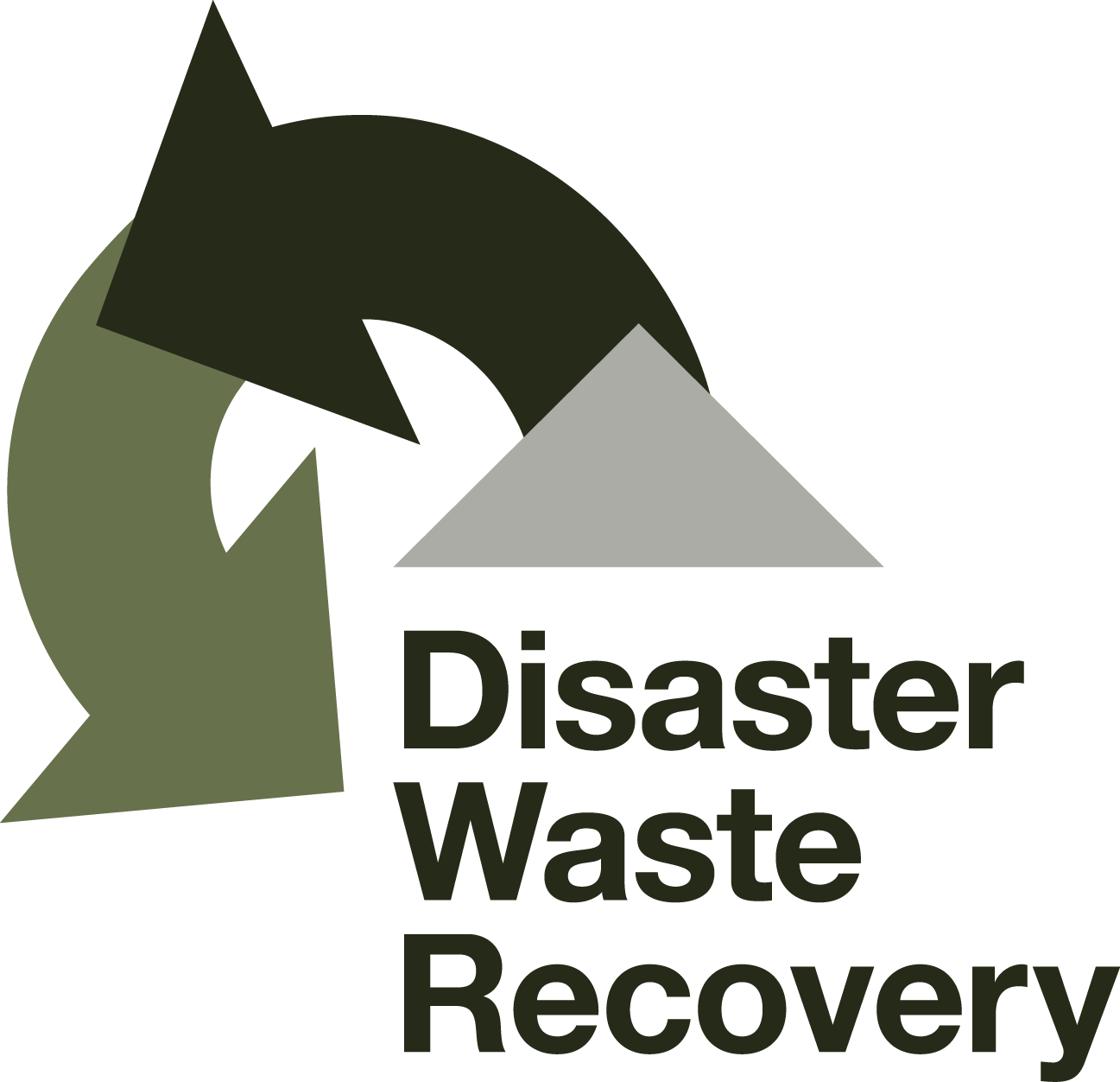 Disaster Waste Recovery Logo