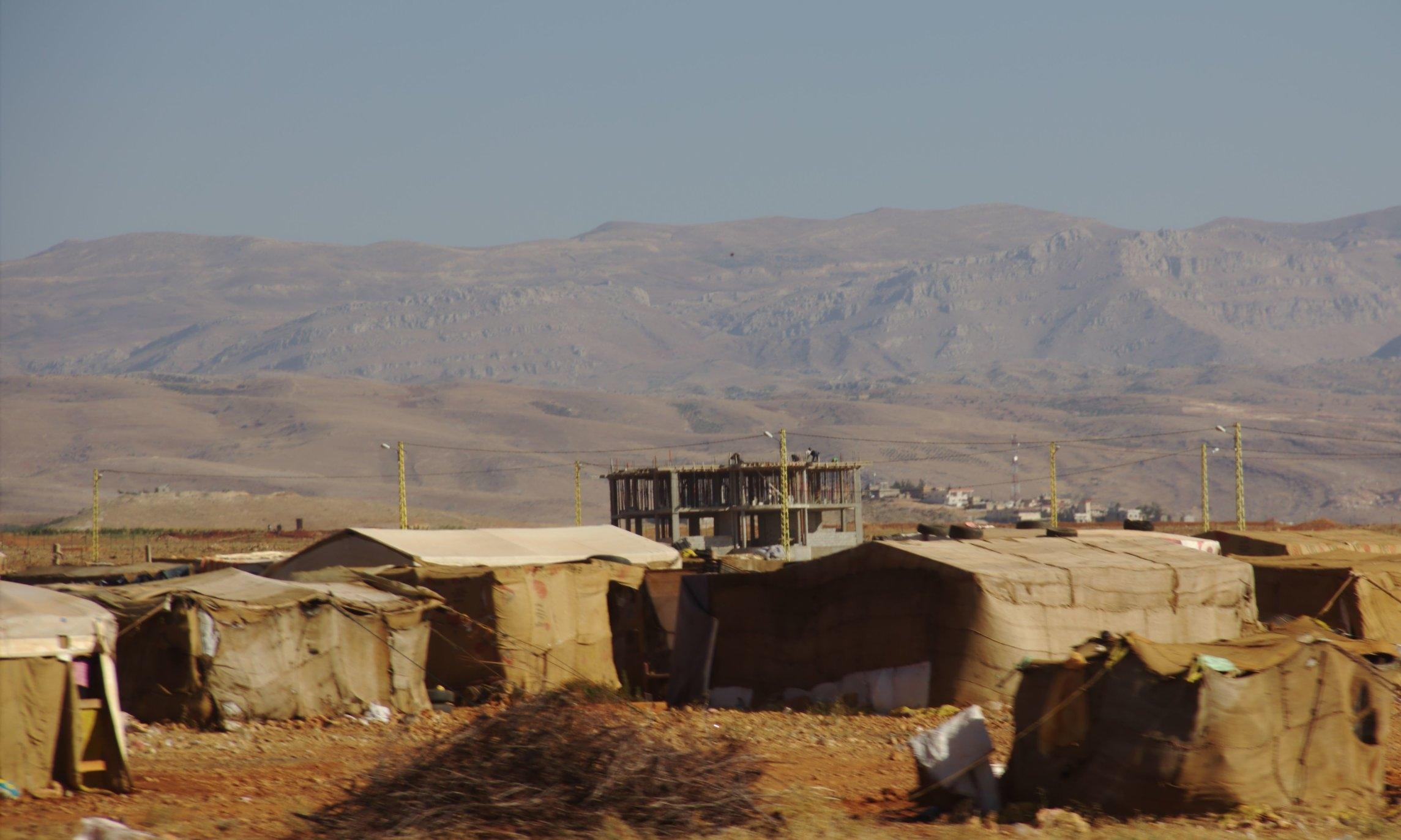 Refugee Center, Lebanon.