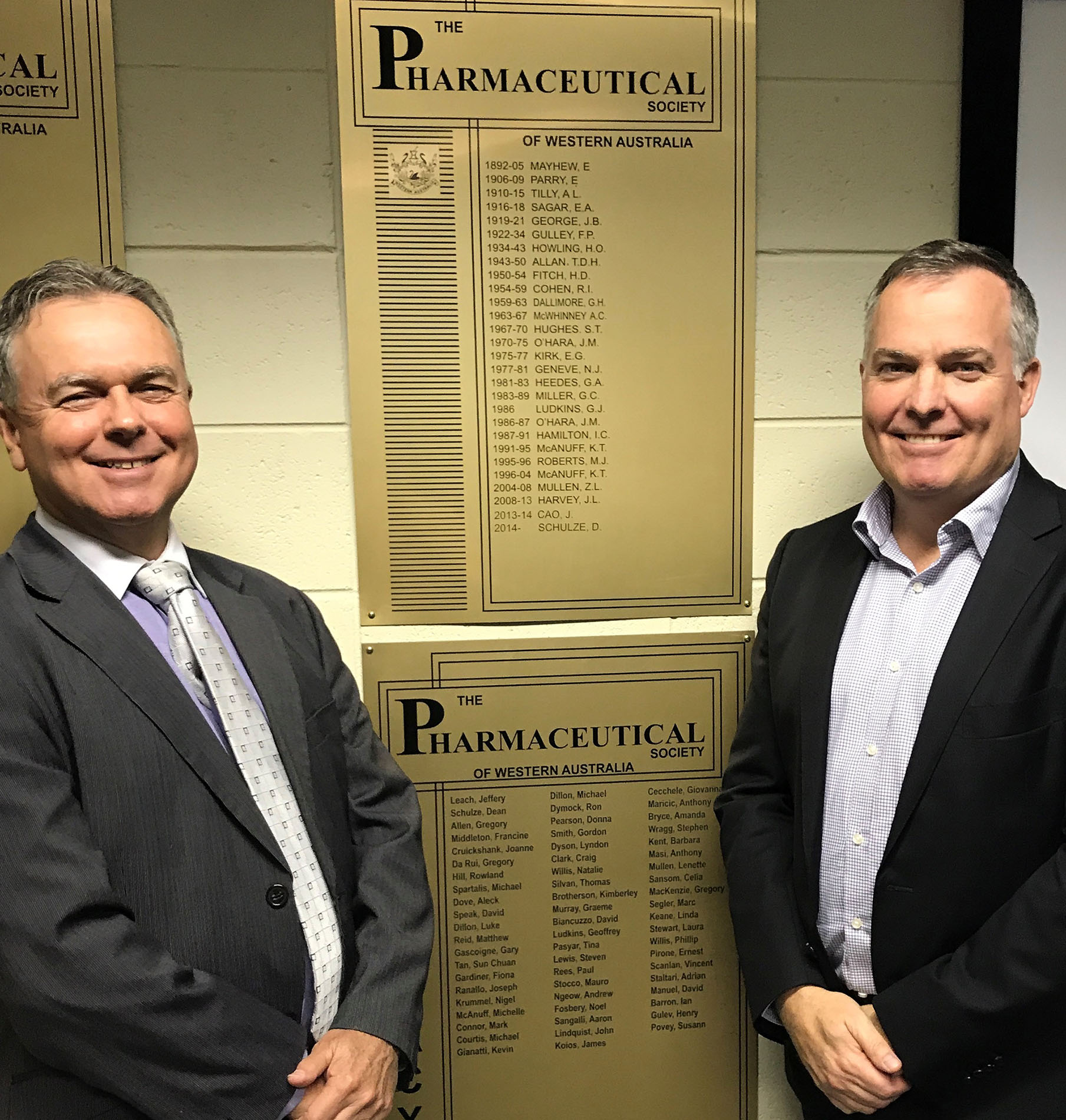 Dean Schulze and Nick OHara with honour board.jpg