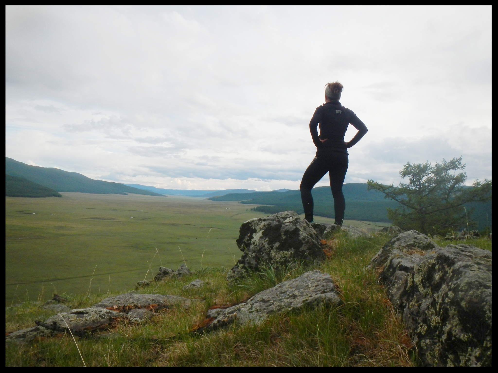 Director,Dr. Julia Clark, appears on EAGLE TV in Mongolia to talk archaeology -