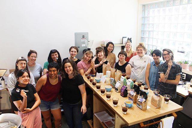 thank you @coffeepeoplezine & @proudmaryusa for having us! #shestheroaster 📷: @kristina.hollie