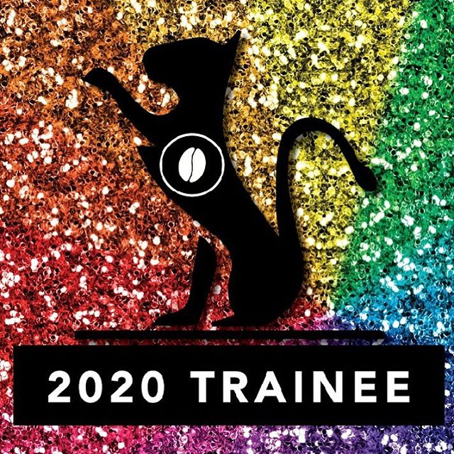 a big congratulations to *all* Glitter Cat Class of 2020 trainees! we'd like to specifically tip our hats to the womxn & nonbinary roaster awardees: Alexandra Mcclean Egan, Baylee Engberg, Chi Sum Ngai, Christina Chin, Emily Smith, Jess Harmon, Kebby Vincent, and Kris Carlson!  a special thanks to the sponsors: @baristaseries, @pacificfoods, @atlas_coffee, and @rancilio.usa. lastly, and of course, none of this could be possible without @tbenfischer and the rest of the powerhouse team behind @glittercatbarista. 💖