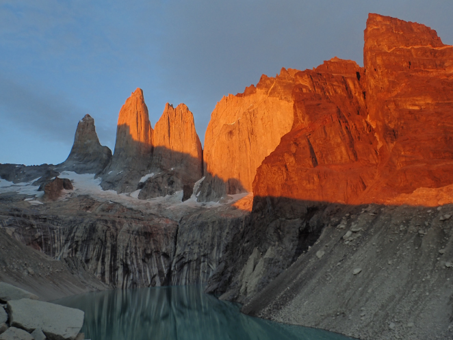 backping through chile torres del paine