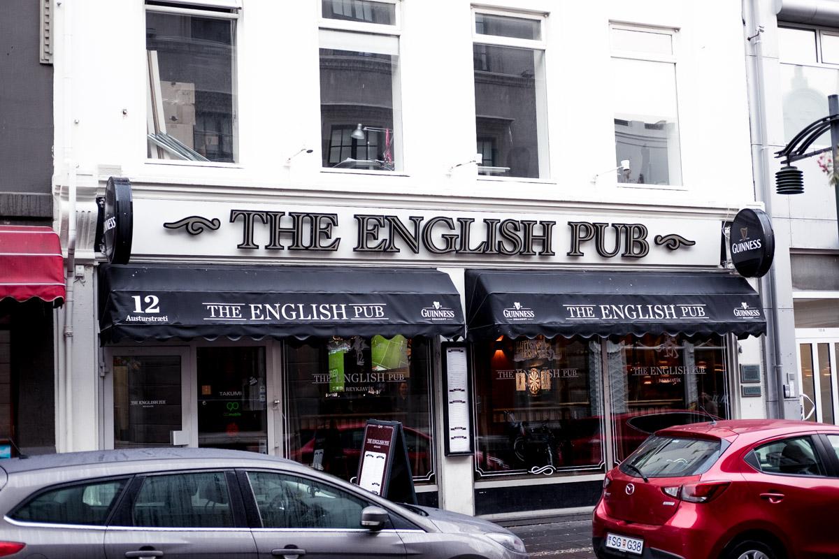 The English Pub iceland reykjavik