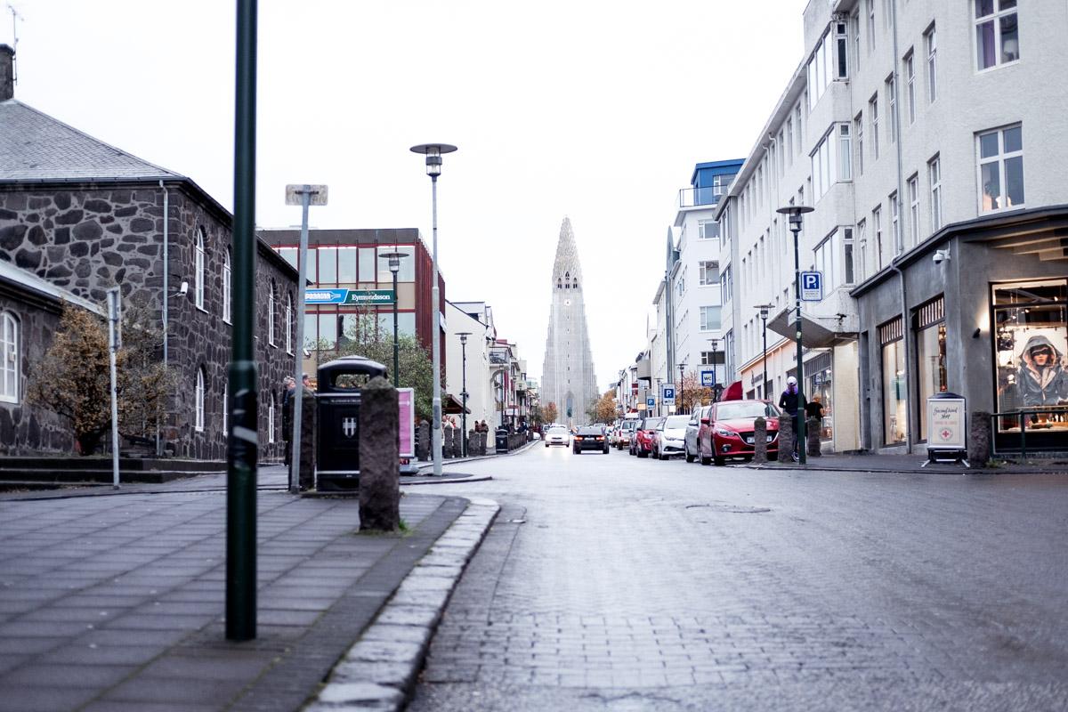 iceland reykjavik downtown