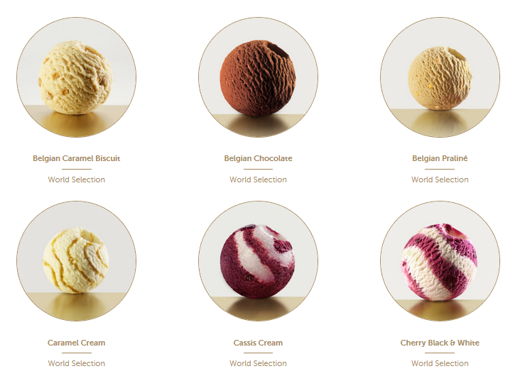 GLACIO's ice cream - creates tempting ice cream specialties of the highest standards. Rooted in Belgium, Glacio brings the best European culinary dessert tradition to the world, in the form of ice cream, sorbets and ice desserts in a surprising variety of flavours, colours and designs. Find us on  www.glacio.com