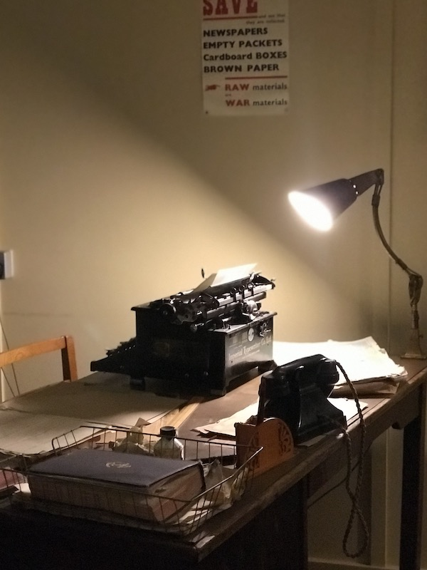 Alan Turing's recreated office in Hut 8