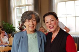 Dinah Rodrigues en Sylvia Mullaart