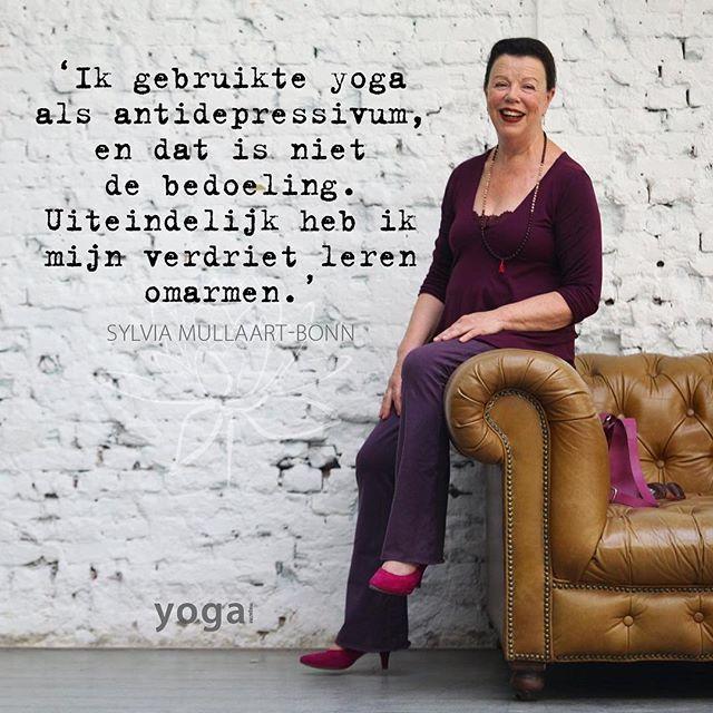 Lees het persoonlijke verhaal van Sylvia in Yoga Magazine