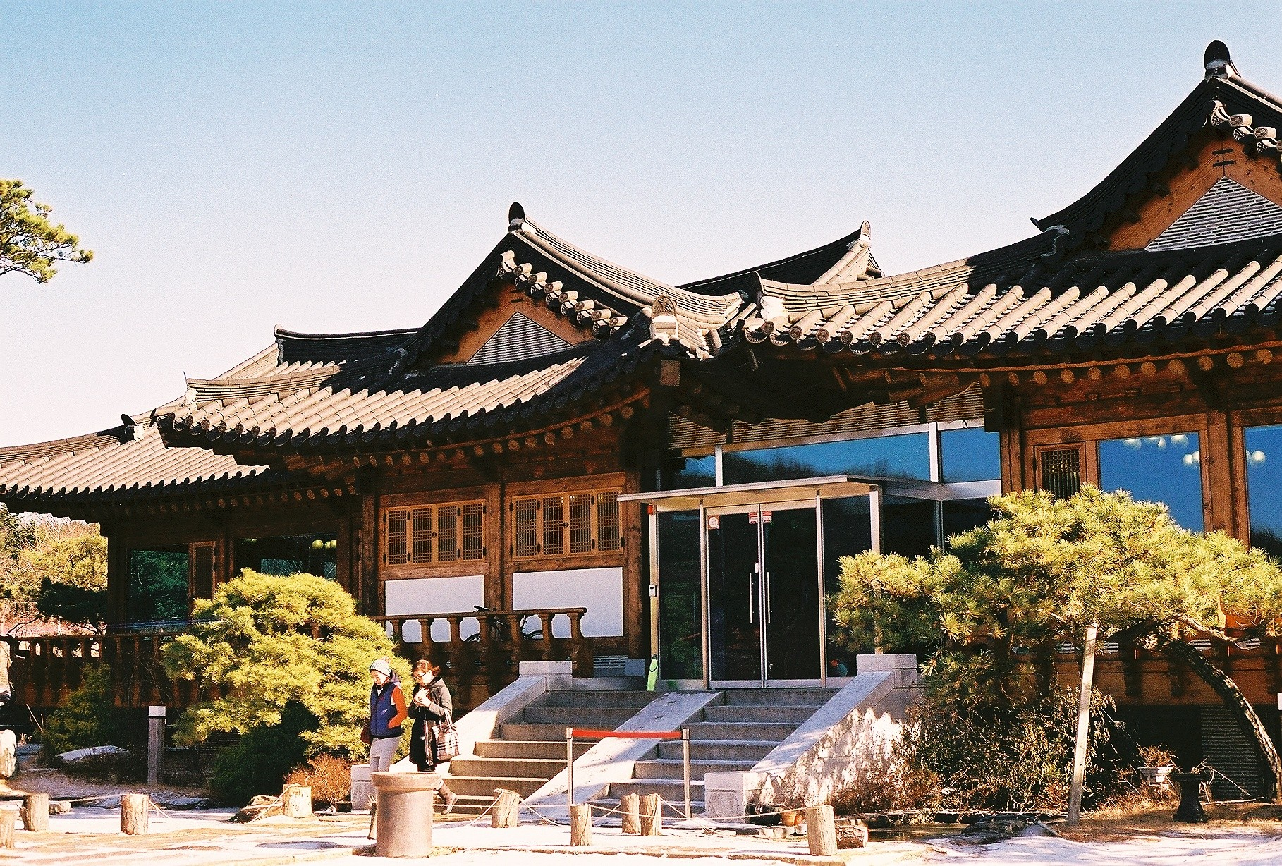 Hanok-style house at Ilsan, Gyeonggi-do, South Korea