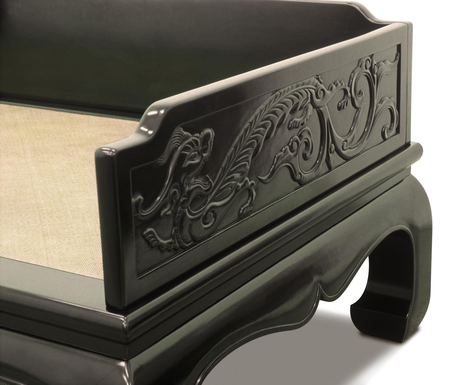 ....Chinese Ming style furniture : daybed..中式明式家具:罗汉床....