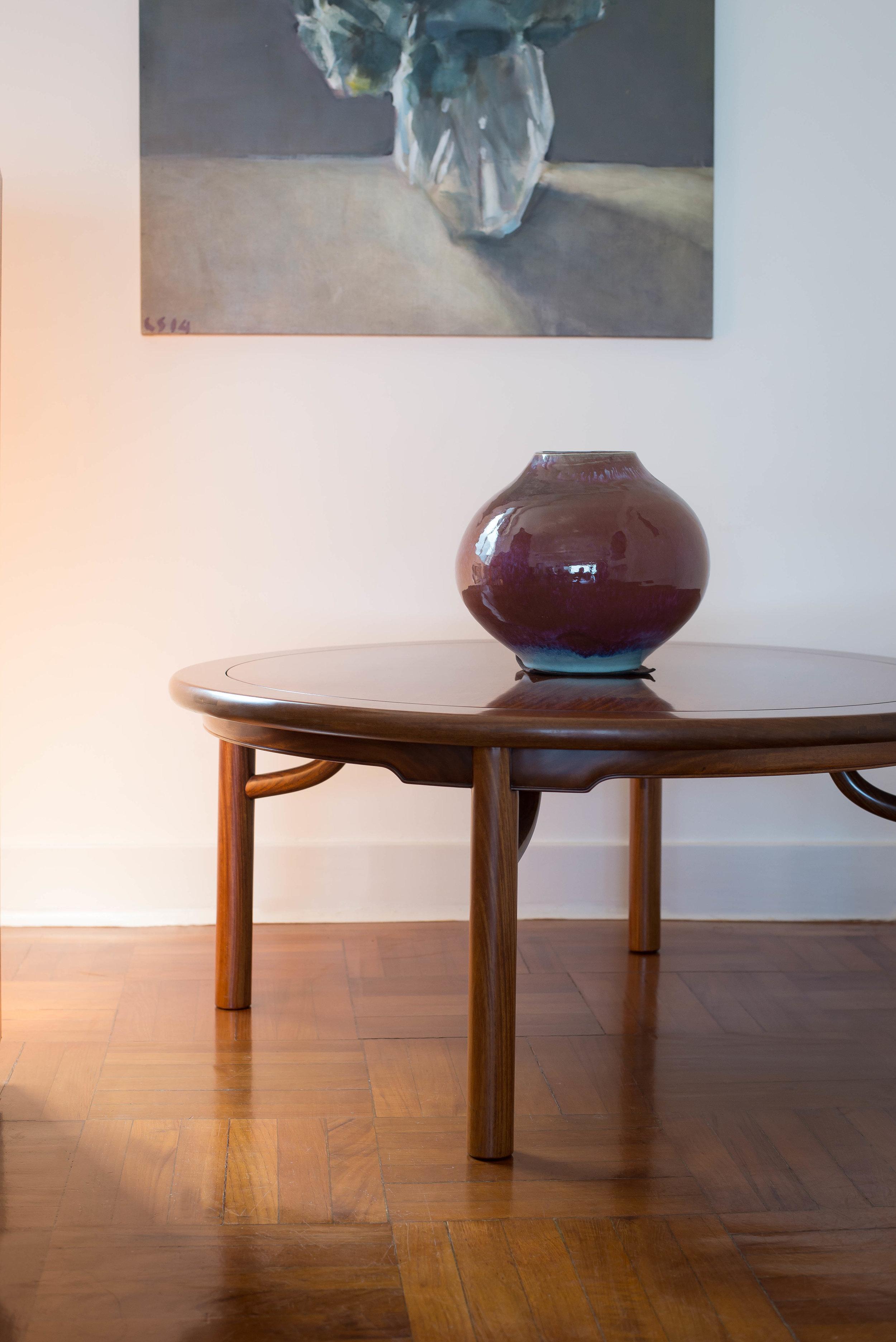 ....bespoke chinese ming style furniture : round table ..特别定制中式明式家具 : 圆台....