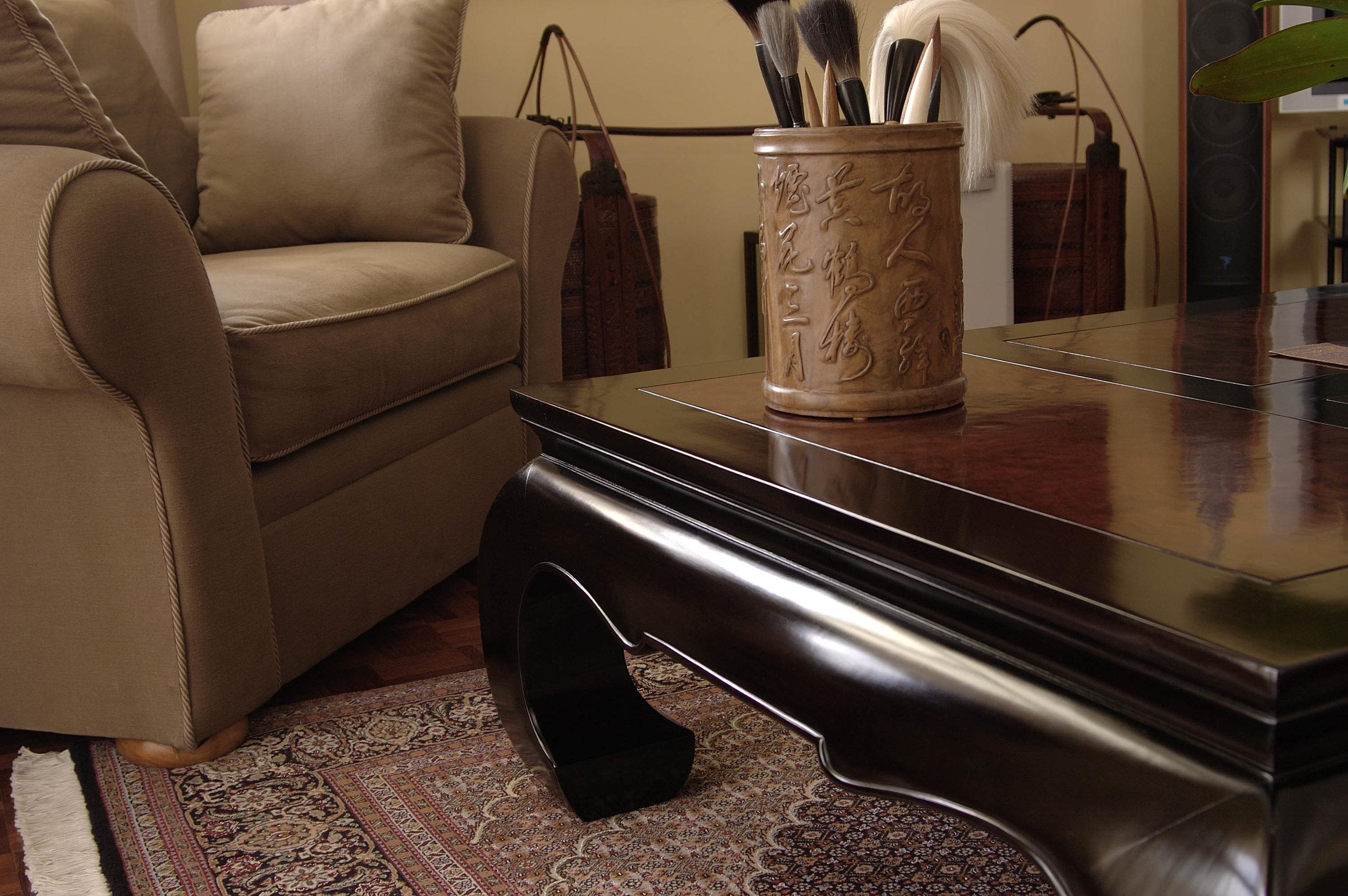 ....bespoke chinese ming style furniture : coffee table..特别定制中式明式家具 : 咖啡台....