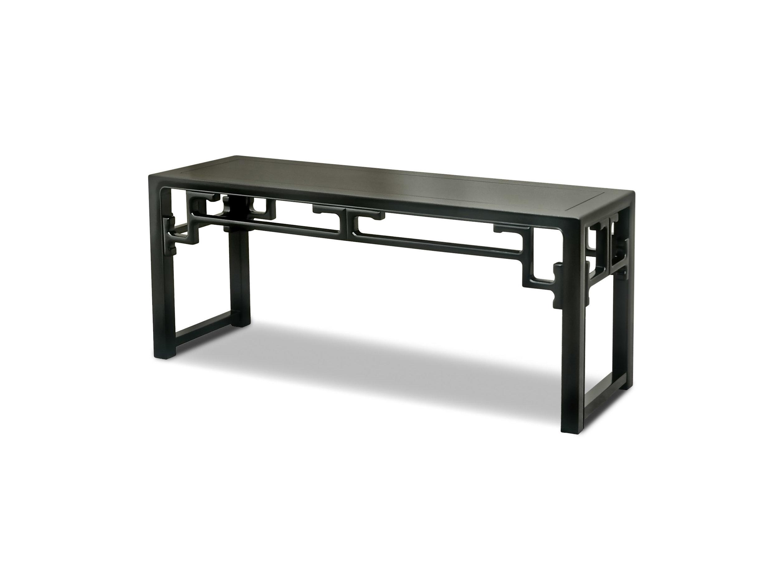 ....chinese qing style furniture : bench ..中式清式家具 : 板凳....