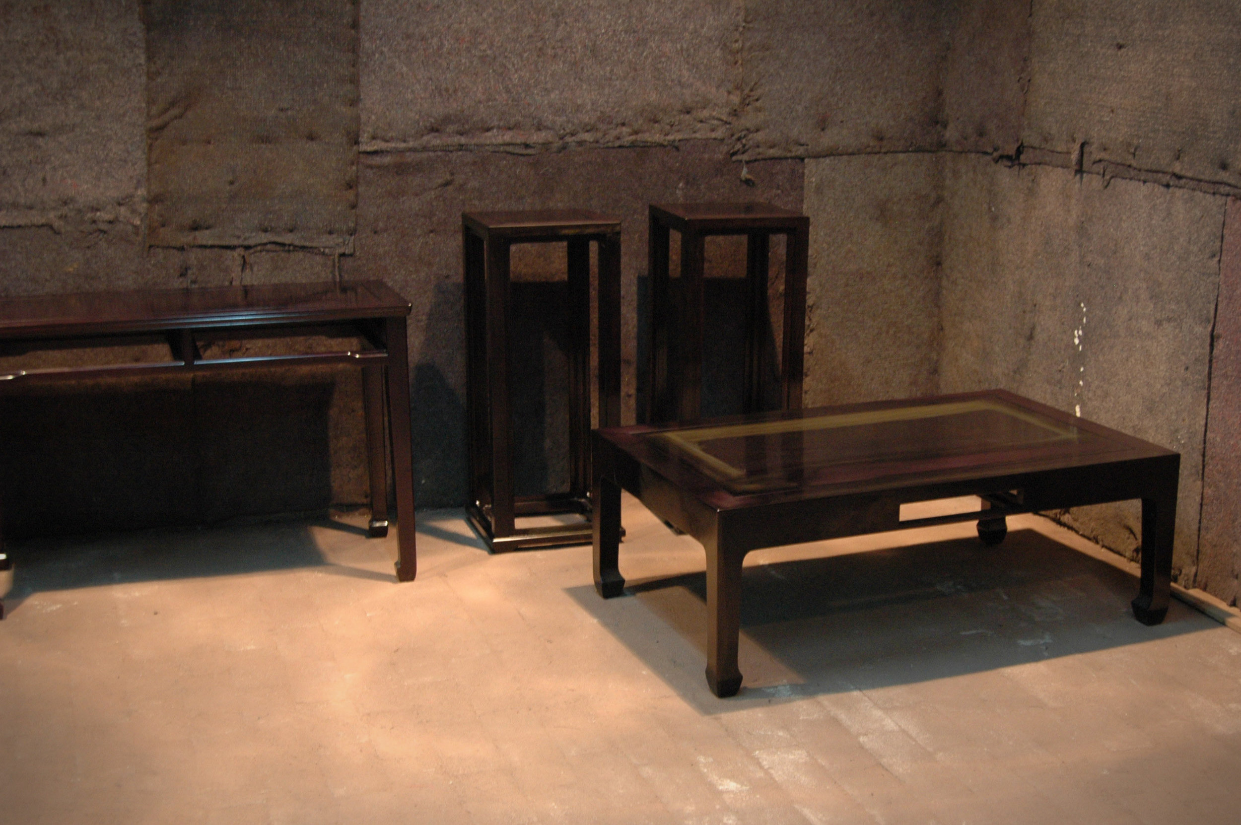 ....furniture lacquer crafting photo..家具上漆照片....