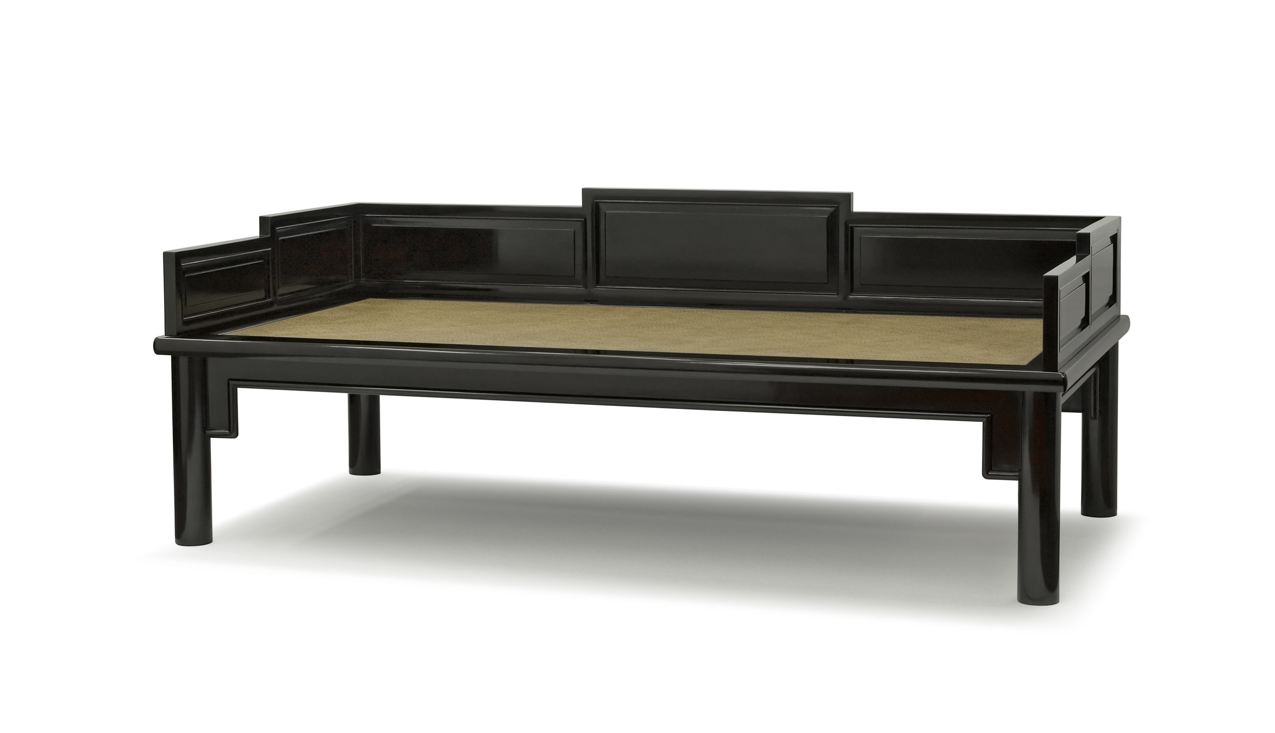 ....Chinese Qing style furniture : daybed..中式清式家具:罗汉床....