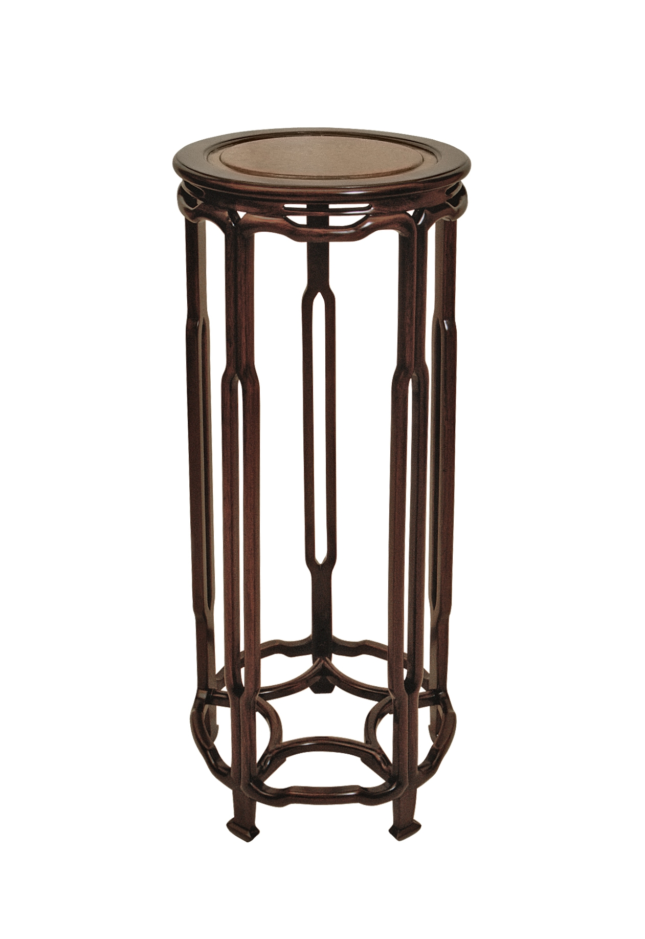 ....Qing Style Chinese furniture : Stand..清式中式家具: 花几....