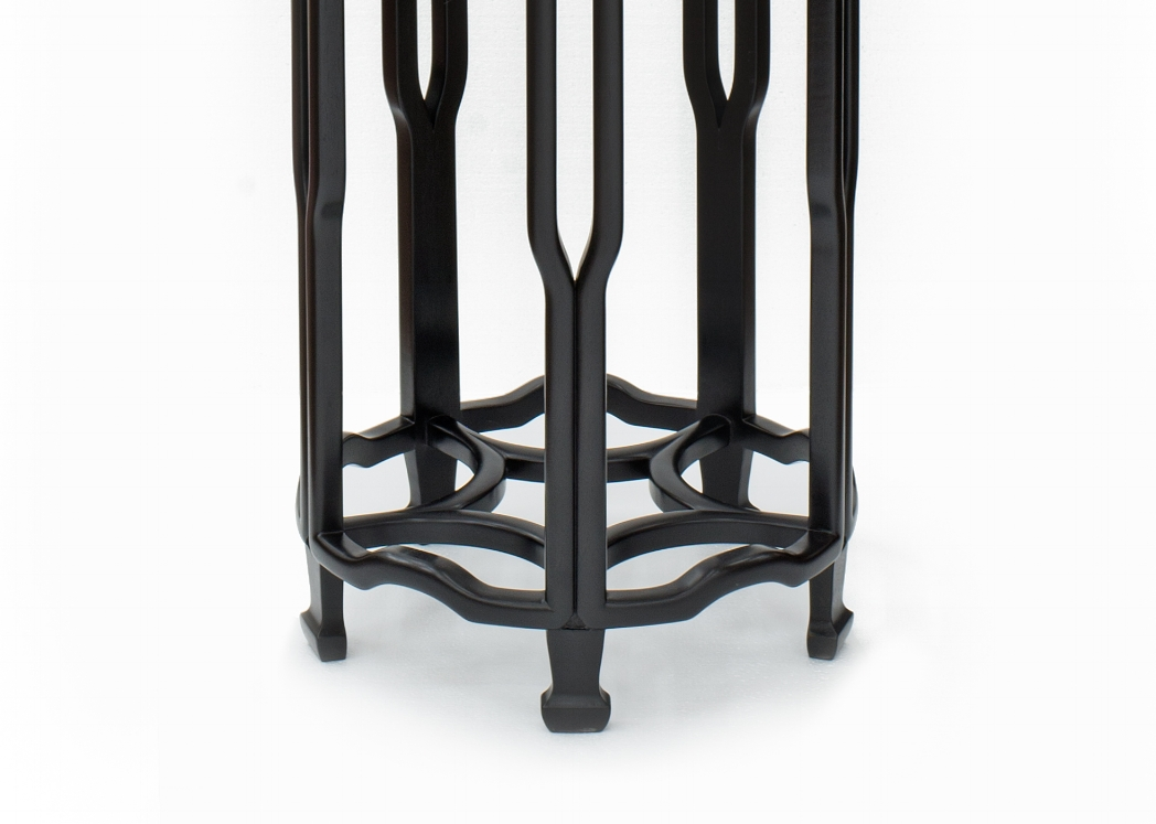 ....Bespoke Qing Style Chinese furniture : Stand..特别定制清式中式家具: 花几....