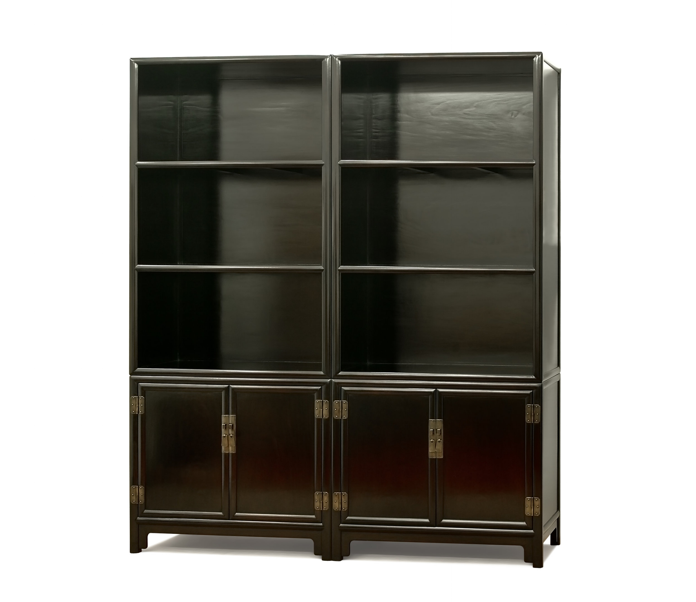....Ming Style Chinese furniture : Compound Shelf..明式中式家具: 组合书架....